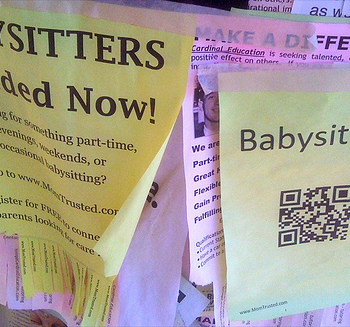 looking for babysitting job