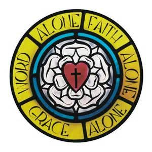 Lutheran rose solas
