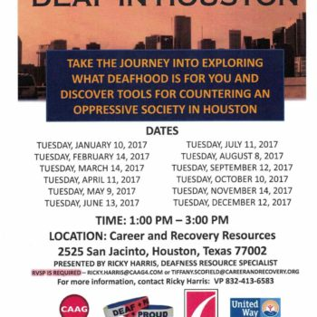 Deaf in Houston