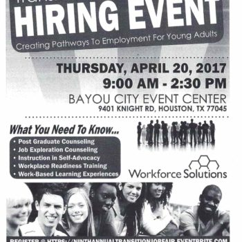 Transition Hiring Event